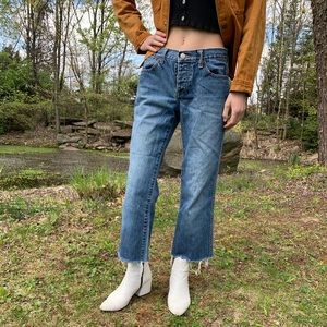 J.crew cropped jeans